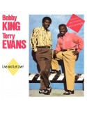 King, Bobby & Terry Evans : Live and let Live! (LP)