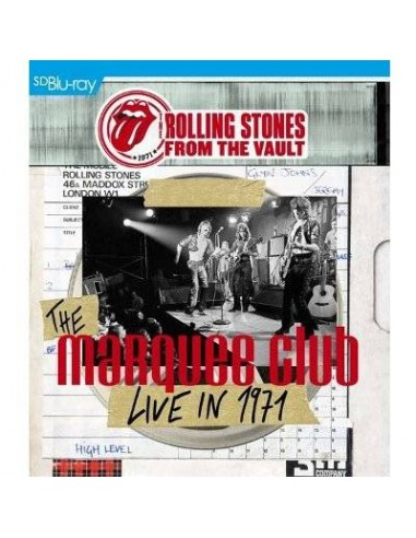 Rolling Stones : From The Vault - Marquee Club 1971 (Blu-ray)