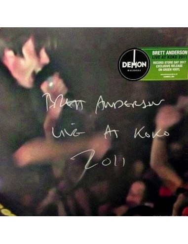 Anderson, Brett : Live At Koko 2011 (LP)