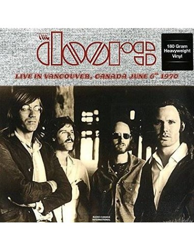 Doors : Live In Vancouver Cad June 6Th 1970 (LP)