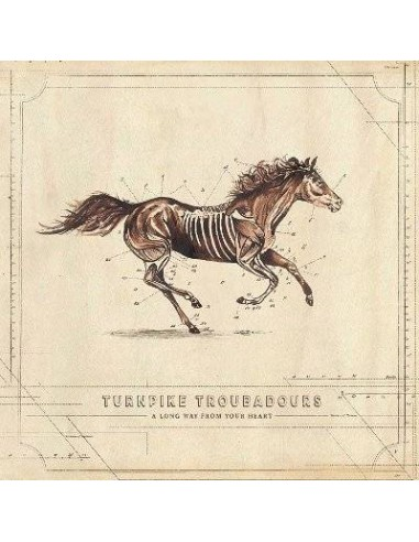 Turnpike Troubadours : A Long Way From Your Heart (LP)