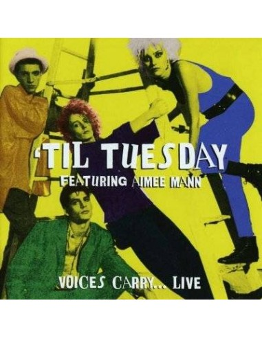 'Til Tuesday : Voices Carry... Live (CD)