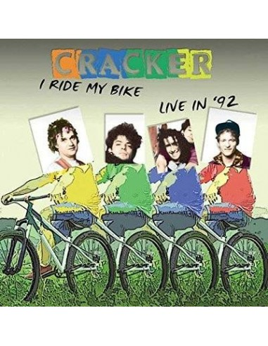 Cracker : I Ride My Bike - Live '92 (CD)