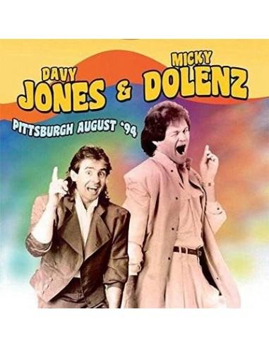 Jones, Davy & Micky Dolenz : Pittsburgh August '94 (CD)