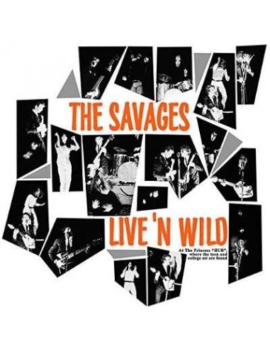 Savages : Live 'n' Wild (LP)
