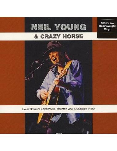 Young, Neil : Live at Shoreline Amphitheatre, Mountain View, CA, Oct 1st 1994 (LP)