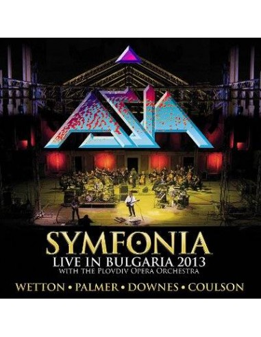 Asia : Symfonia - Live in Bulgaria 2013 (2-LP)
