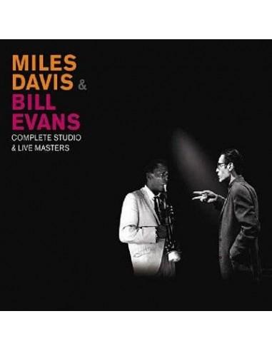 Davis, Miles / Bill Evans : Complete Studio & LIve Masters (3-CD)