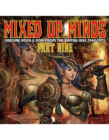 Mixed Up Minds Part Nine - Obscure Rock & Pop From The British Isles 1969-1975 (CD)