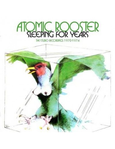 Atomic Rooster : Sleeping for Years - the Studio Recordings 1970-74 (4-CD)