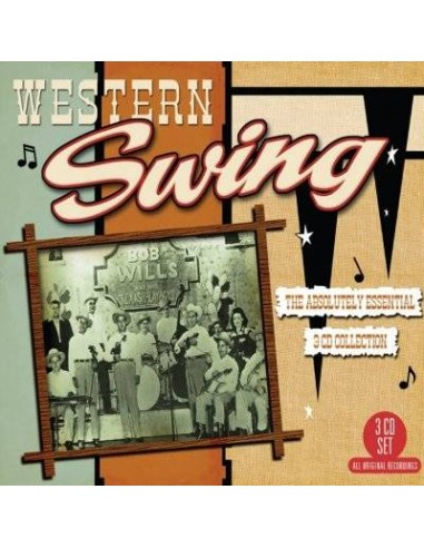 Western Swing - The Absolutely Essential 3-CD Collection (3-CD)