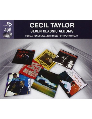 Taylor, Cecll : 8 Classic Albums (4-CD)