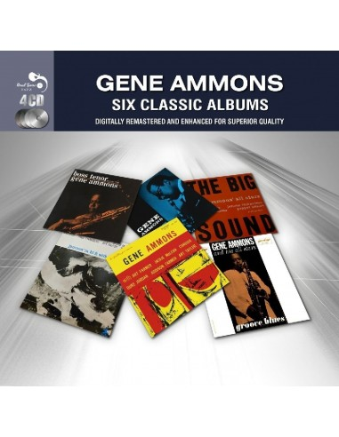Ammons, Gene : 8 Classic Albums (4-CD)