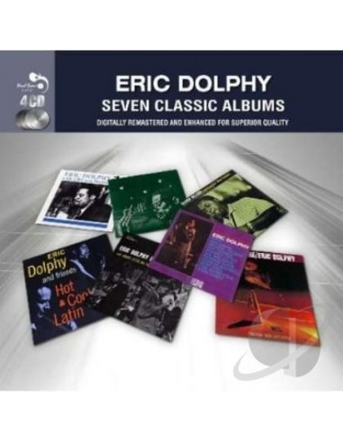 Dolphy, Eric : 7 Classic Albums (4-CD)