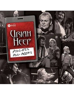 Uriah Heep : Access All Areas (CD + DVD)