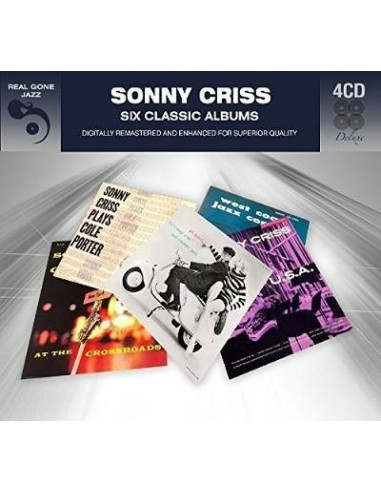 Criss, Sonny : 6 Classic Albums (4-CD)