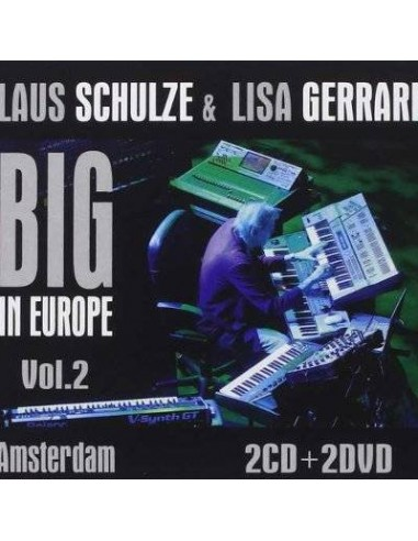 Schulze, Klaus / Lisa Gerrard : Big in Europe Vol.2 Amsterdam (2-CD/DVD)