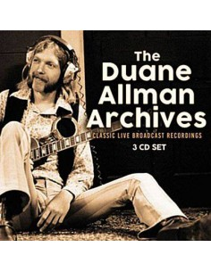 Allman, Duane : Archives - Classic Live Broadcast Recordings (3-CD)