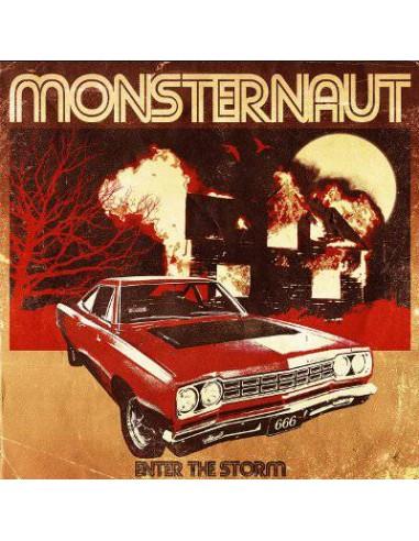 Monsternaut : Enter The Storm (LP) yellow vinyl
