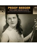 Seeger, Peggy : Five Classic Albums Plus EP's (4-CD)