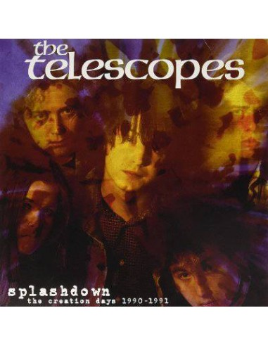 Telescopes : Splashdown - The Creation Days 1990-1991 (2-LP)