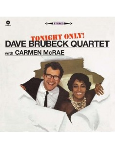 Brubeck, Dave With Carmen McRae : Tonight Only! (LP)