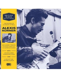 Korner, Alexis : British Blues Masterworks (2-LP + CD)