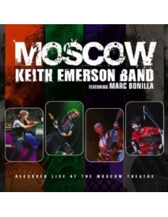 Emerson, Keith Band Feat. Marc Bonilla : Moscow (2-CD)