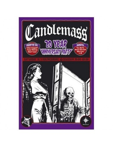 Candlemass : 20 Year Anniversary Party (DVD)