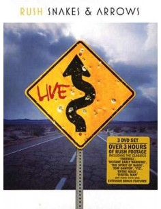 Rush : Snakes & Arrows Live (3-DVD)