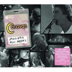 Caravan : Access All Areas (CD + DVD)