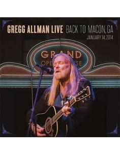 Allman, Gregg : Gregg Allman Live: Back To Macon, GA, 14.1.2014 (2-CD)