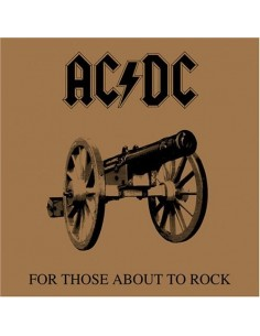AC/DC : For Those About To Rock (LP)