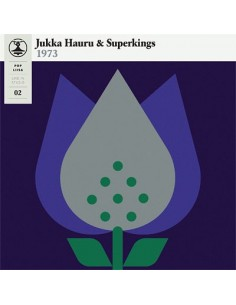 Jukka Hauru & Superkings: Pop-Liisa 2 (LP / Harmaa)