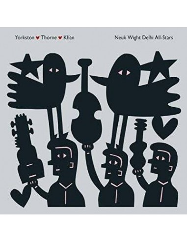 Yorkston / Thorne / Khan : Neuk Wight Delhi AllStar (2-P)