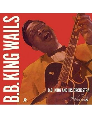 King, B.B. : B.B. King Wails (LP)