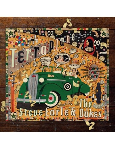 Earle, Steve & The Dukes : Terraplane (LP)