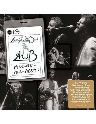 Average White Band : Access All Areas (CD + DVD)