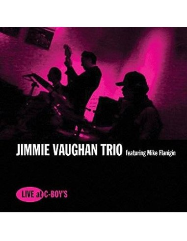Vaughan, Jimmie & Mike Flanigin: Live At C-Boy's (LP)