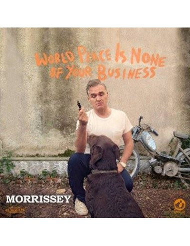 Morrissey : World Peace Is None Of Your Business (CD)