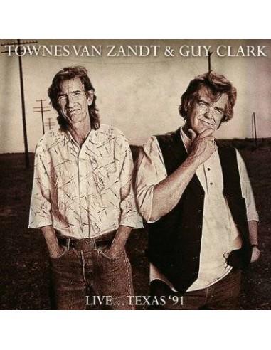 Van Zandt, Townes & Guy Clark : Live... Texas '91 (CD)