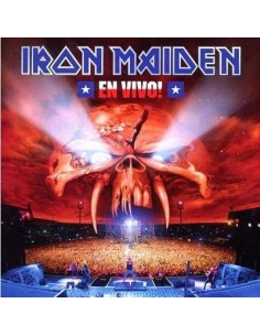 Iron Maiden : En Vivo - Live at Estadio Nacionalk, Santiago (2-DVD / Metalbox)