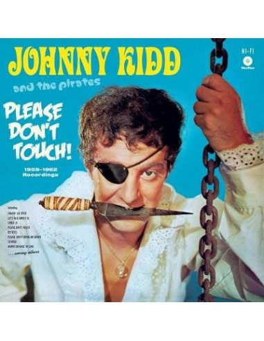 Johnny Kidd and the Pirates : Please Don't Touch (LP)