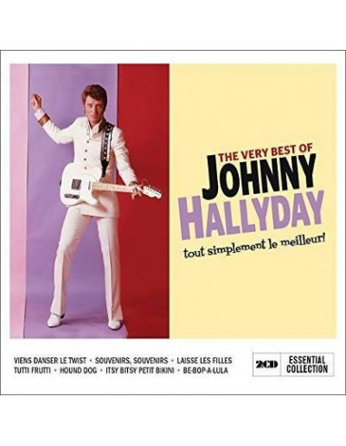 Hallyday, Johnny : The Very Best Of (2-CD)