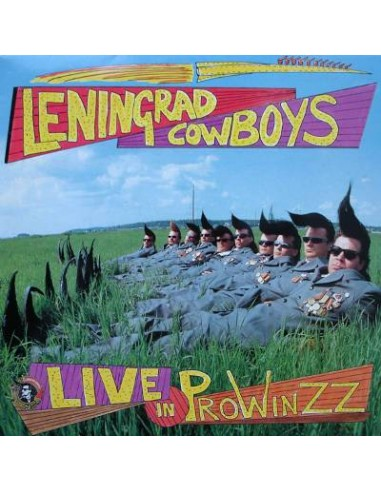 Leningrad Cowboys : Live In Prowinzz (2-LP)