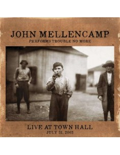 Mellencamp, John : Performs Trouble No More Live At Town Hall (LP)
