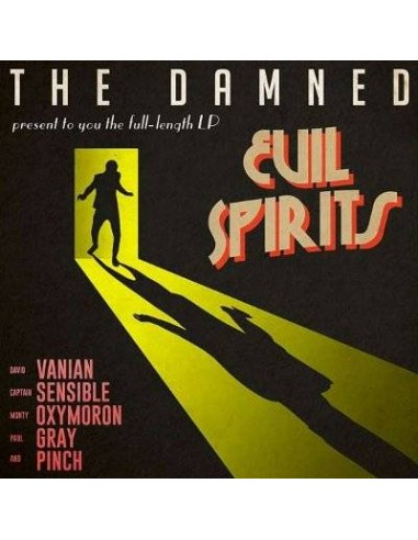 Damned : Evil Spirits (LP)