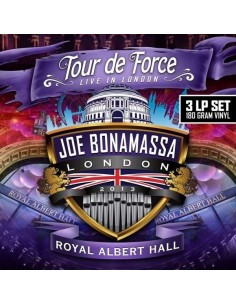 Bonamassa, Joe : Tour De Force - Live In London, Royal Albert Hall (3-LP)