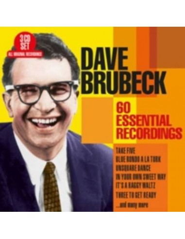 Brubeck, Dave : 60 Essential Recordings (3-CD)