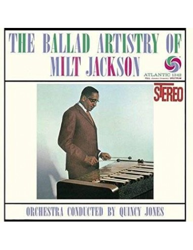 Jackson, Milt : The Ballad Artistry of Milt Jackson (CD)